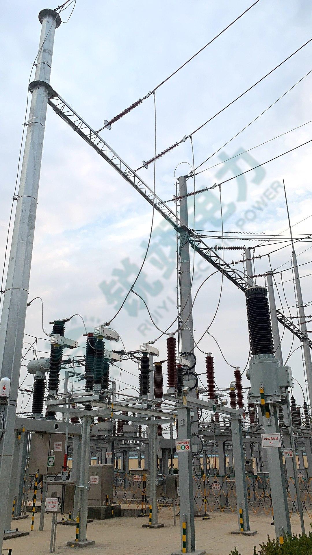 110kV变电站线路工程